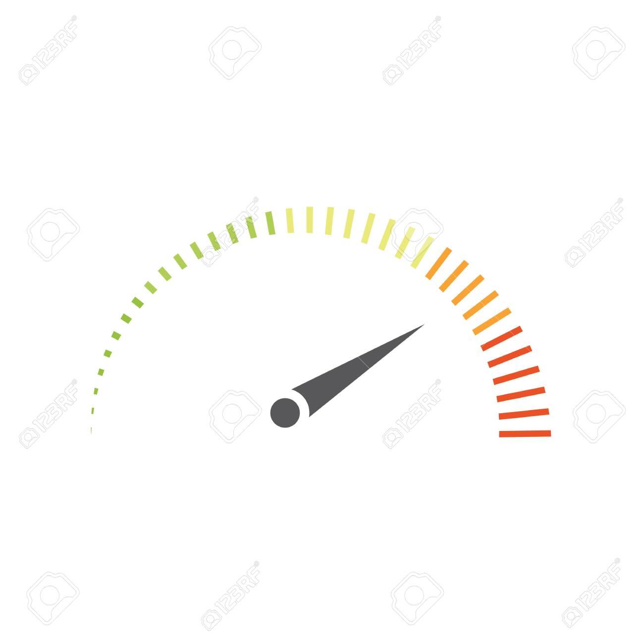 Speedometer vector illustration icon design - 128976717