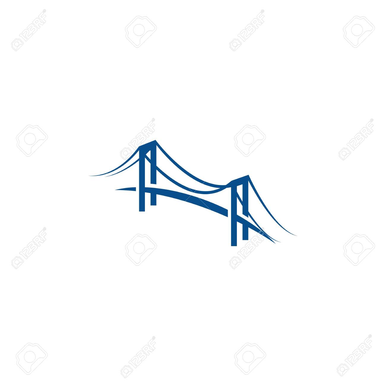 Bridge Logo Template vector icon illustration design - 139286364