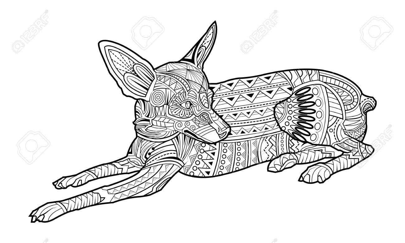 Chihuahua Coloring Pages - Best Coloring Pages For Kids   780x1300