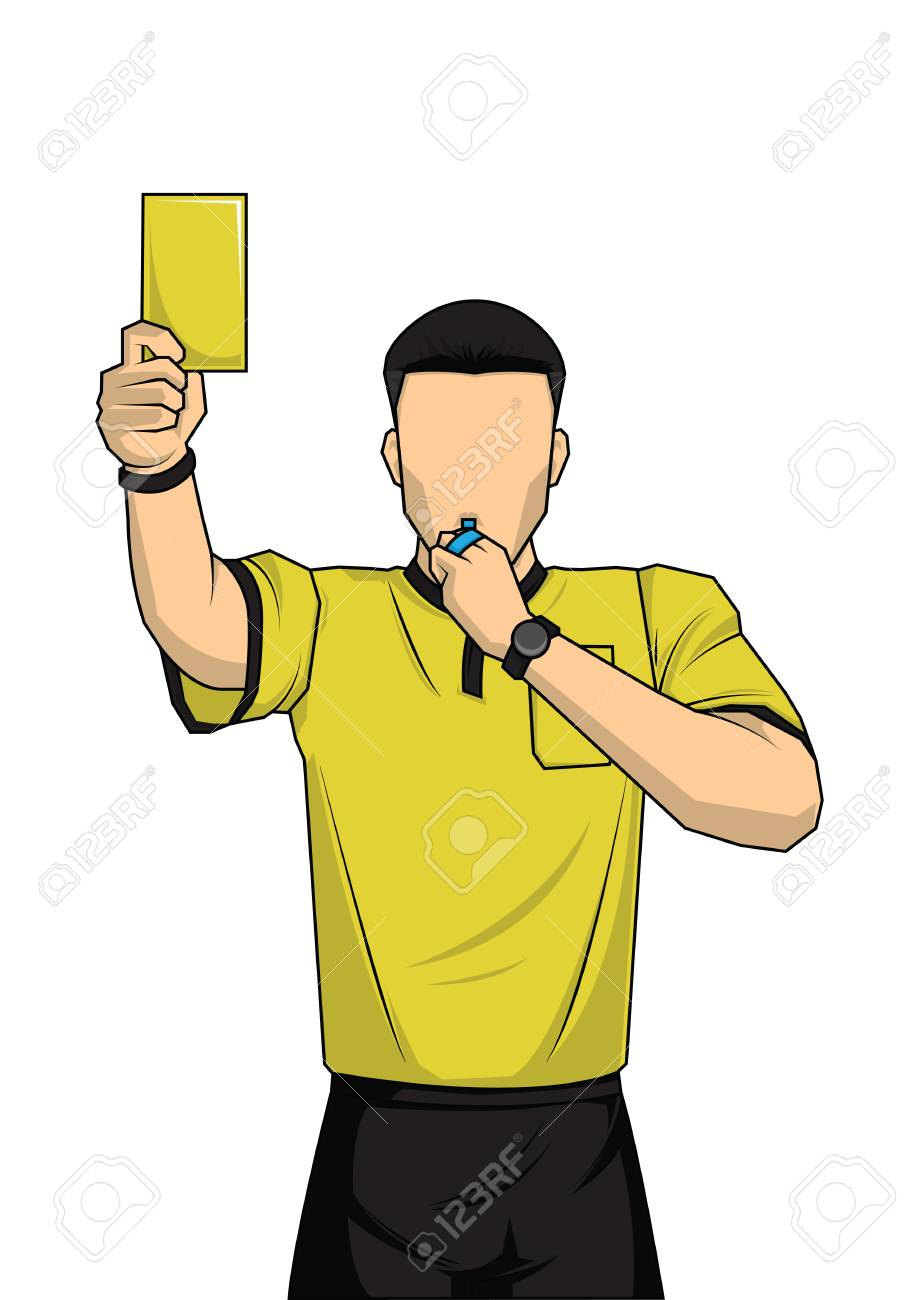 94441103-soccer-referee-showing-yellow-c