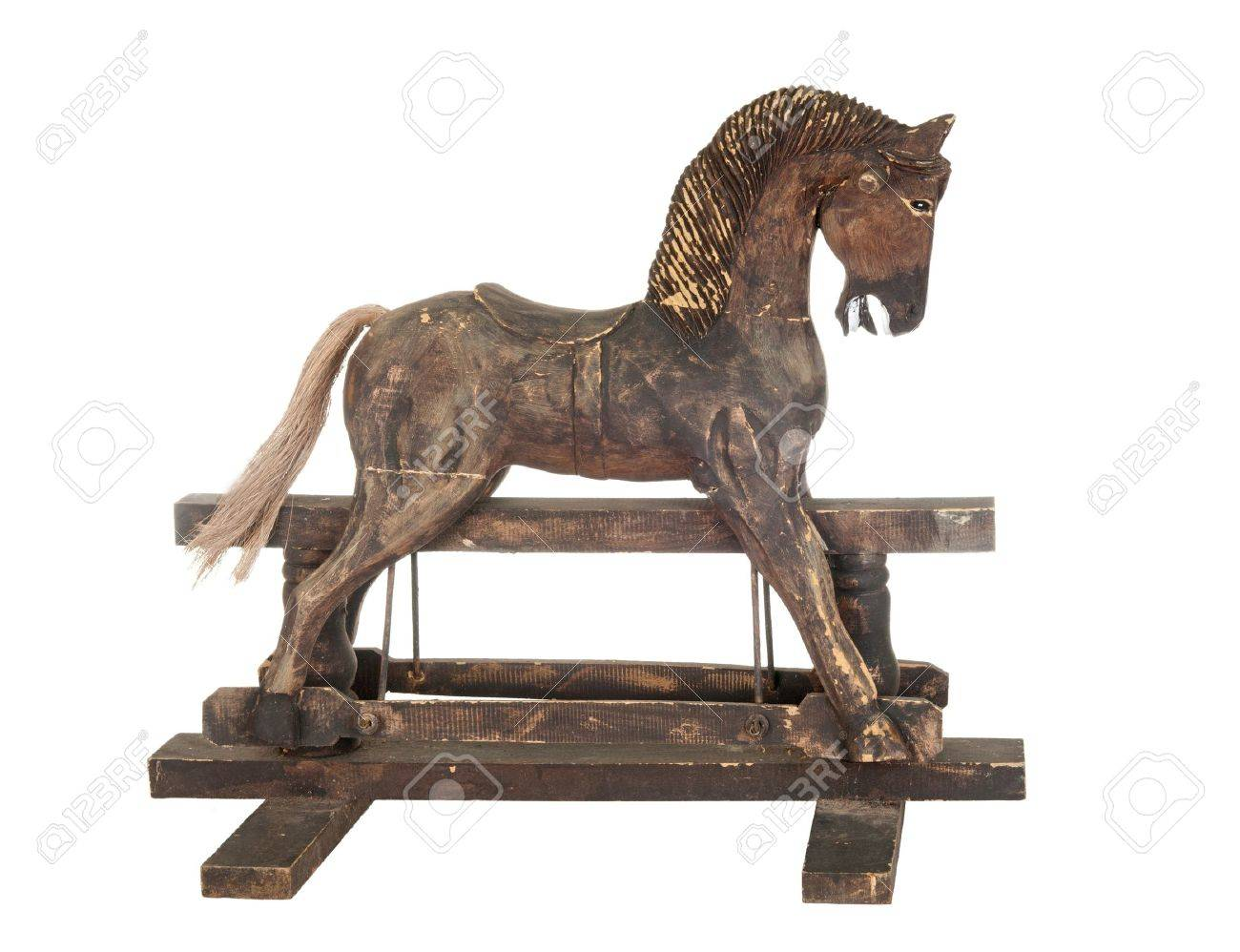 Cheval à Bascule Ancien Banque D'Images Et