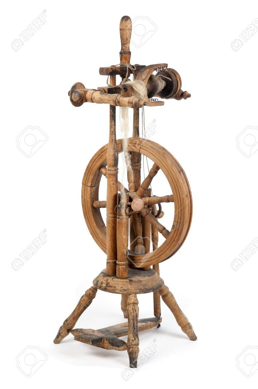 Old Spinning Wheel Stock Photo Picture And Royalty Free Image Image 15286464