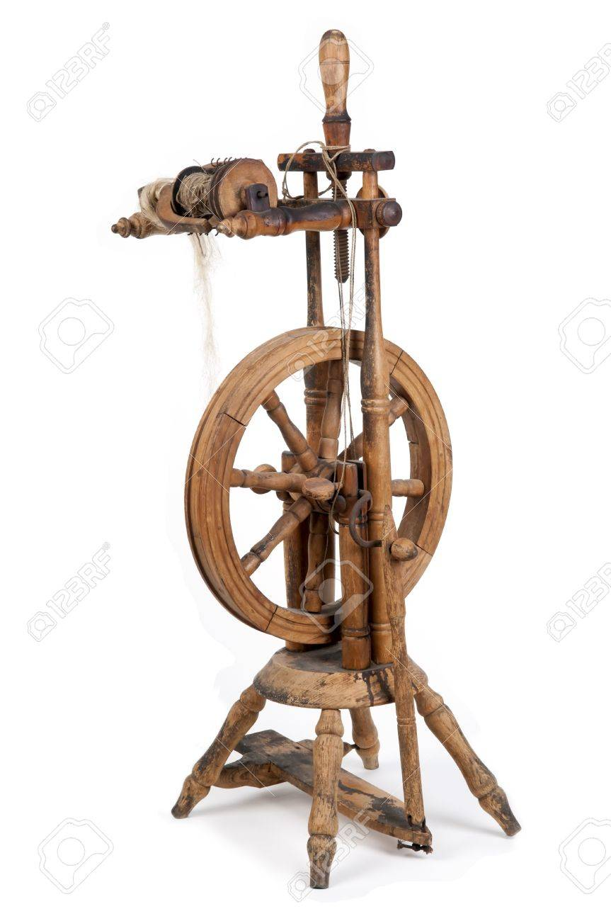 Old Spinning Wheel Stock Photo Picture And Royalty Free Image Image 15286468
