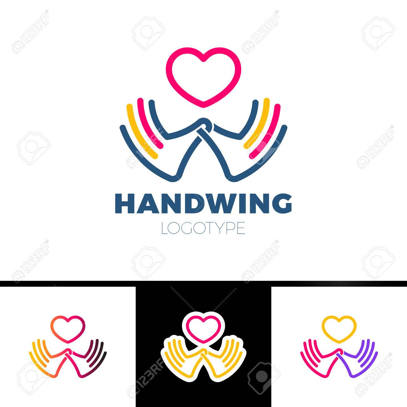 Heart in hand symbol sign icon logo template for charity heart in hand symbol sign icon logo template for charity health buycottarizona Gallery