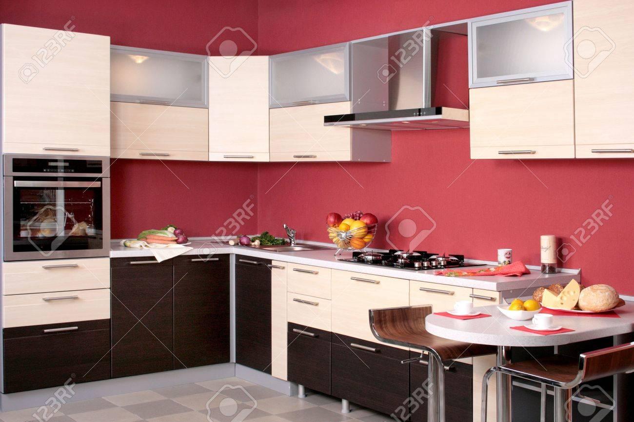 modern kitchen furniture for home interior - 3697776