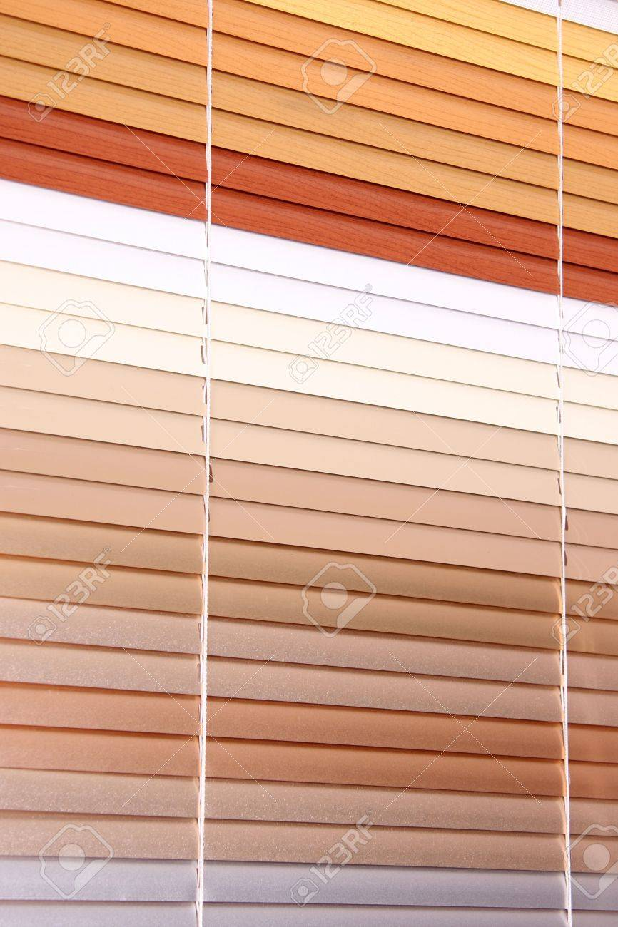 horizontal blinds as a background - 6866738
