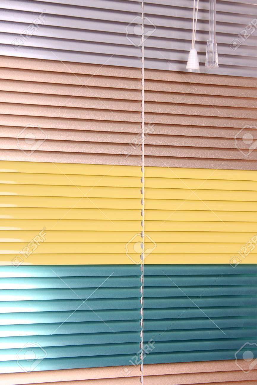 horizontal blinds as a background - 6866722