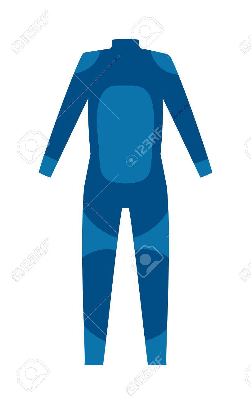 diving suit for male vector and scuba suit underwater equipment rh 123rf com Snowsuit Clip Art Space Suit Clip Art