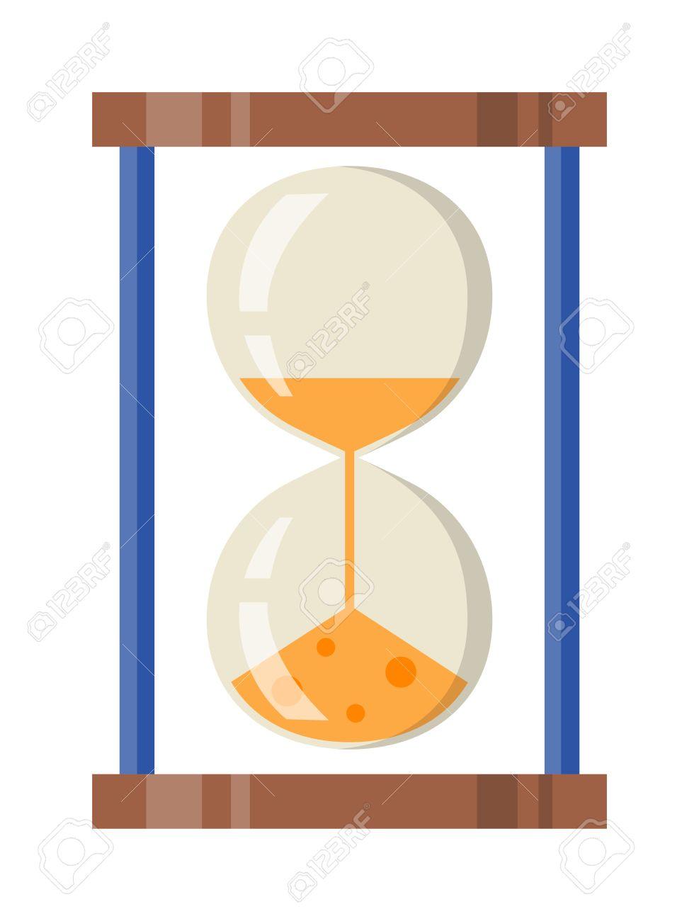 Sandglass icon  Transparent Sandglass Icon, Time Hourglass, Sand Clock Flat Design ...
