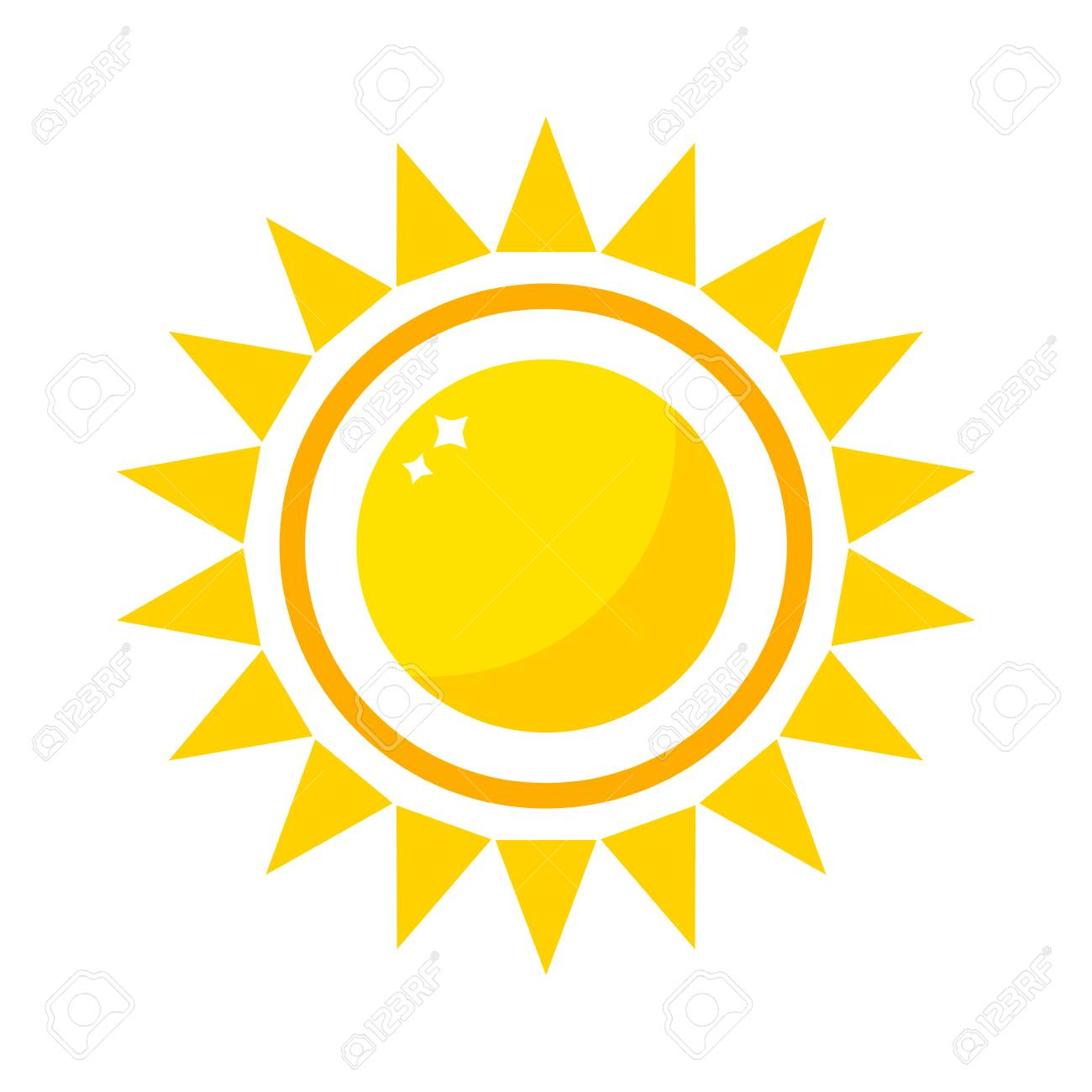 vector sun icon isolated on white background sun vector isolated rh 123rf com free vector sun icon free vector sunrise