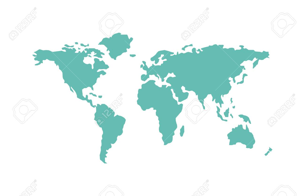 World map planet and world map global continents world map symbol vector world map planet and world map global continents world map symbol land ocean abstract silhouette earth map silhouette world map gumiabroncs Images