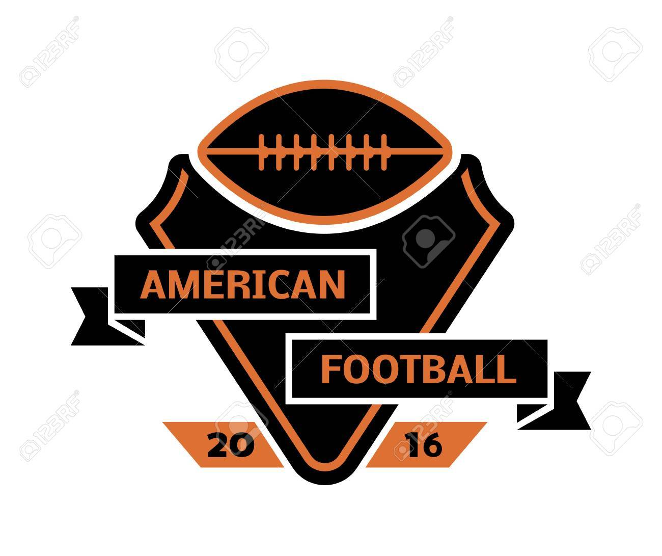 Template for american football sport team with sport sign and template for american football sport team with sport sign and symbols tournament competition graphic champion biocorpaavc Choice Image