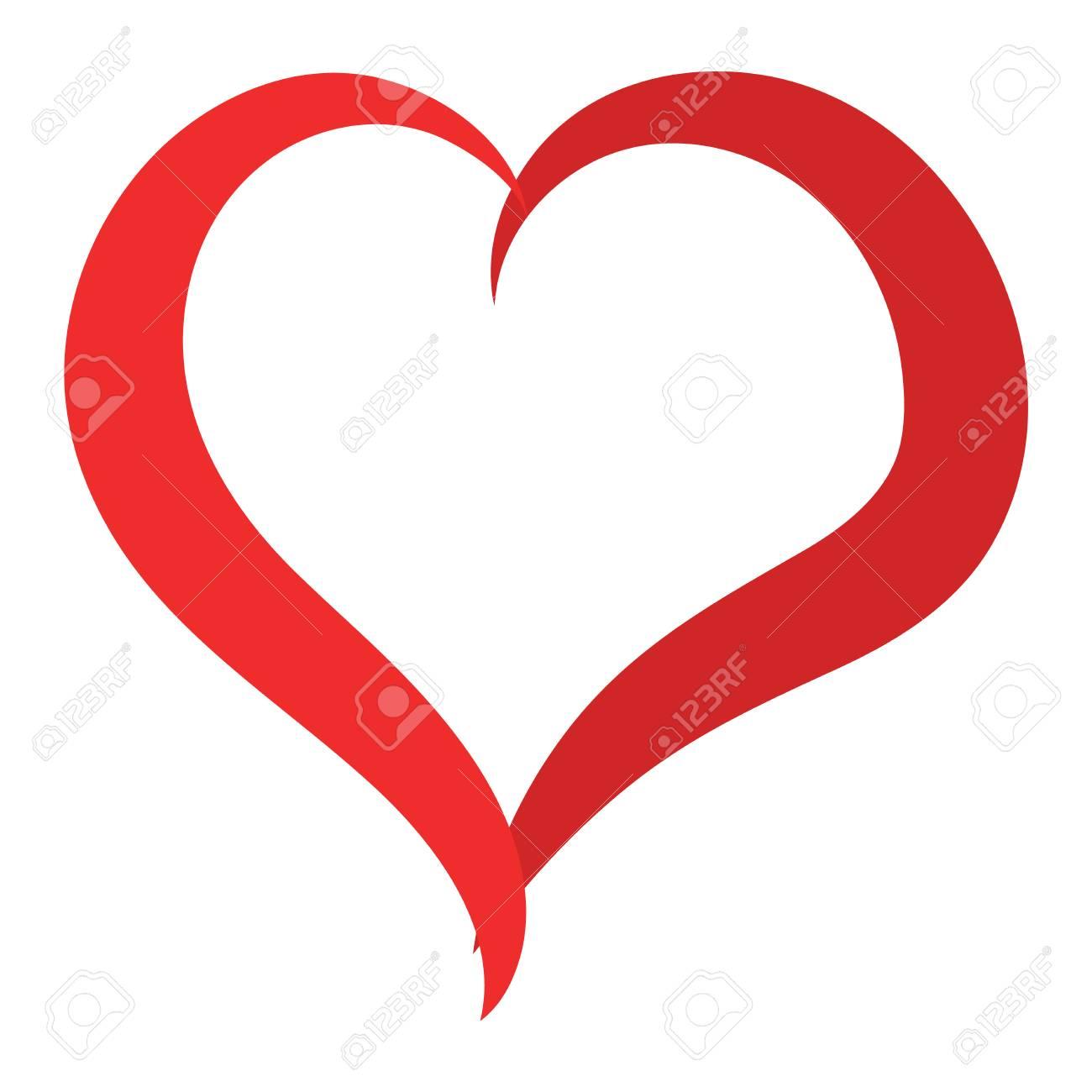 Einfache Rote Herz Scharf Vektor Symbol Farbkarte Schön Feiern Hell Emoticon Rotes Herz Symbol Red Heart Urlaub Abstrakte Kunst Symbol Dekoration Romantik Form Design Liebe Amour Herz Symbol Lizenzfrei Nutzbare Vektorgrafiken Clip Arts