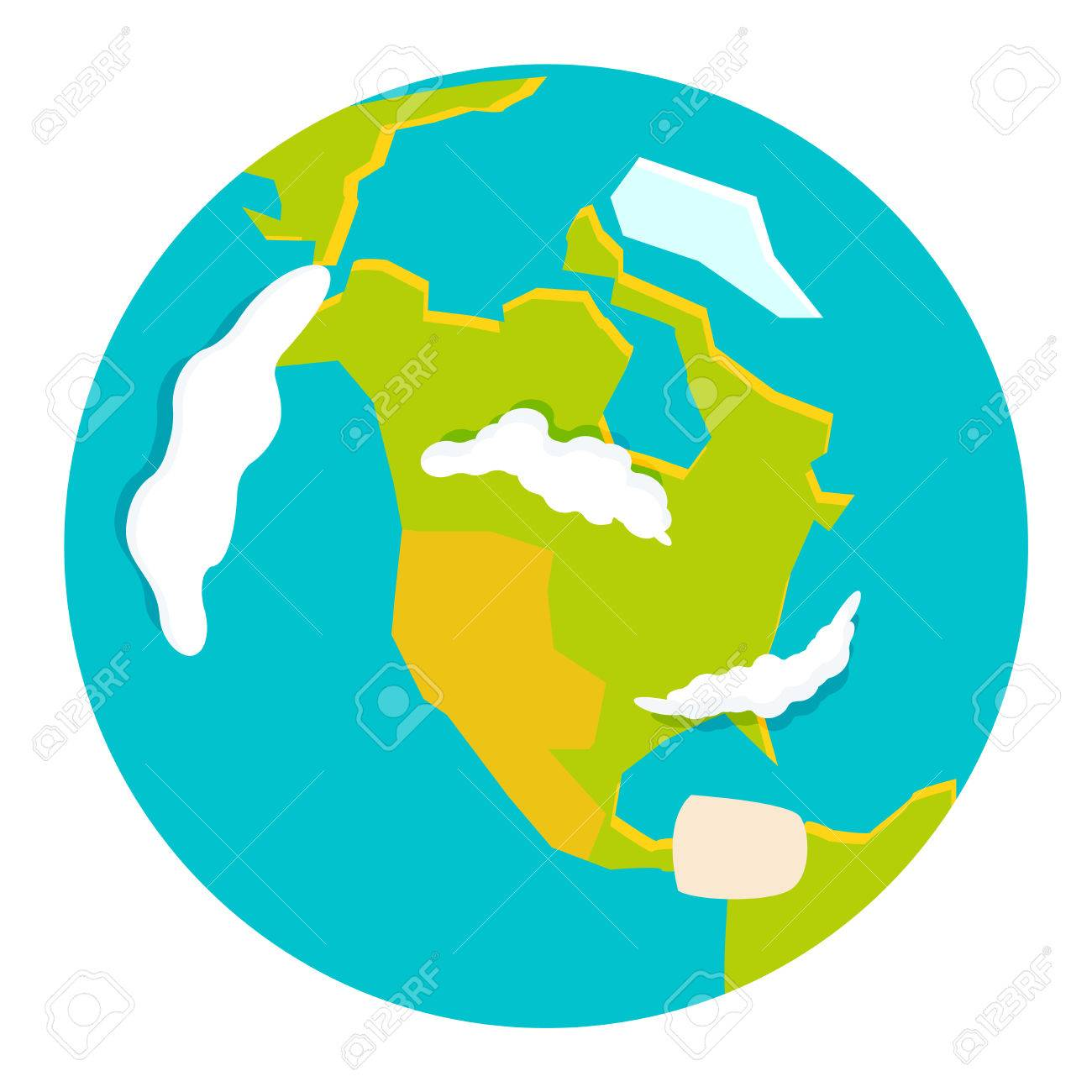 Free vector globe map awesome graphic library free vector globe map images gallery gumiabroncs Gallery
