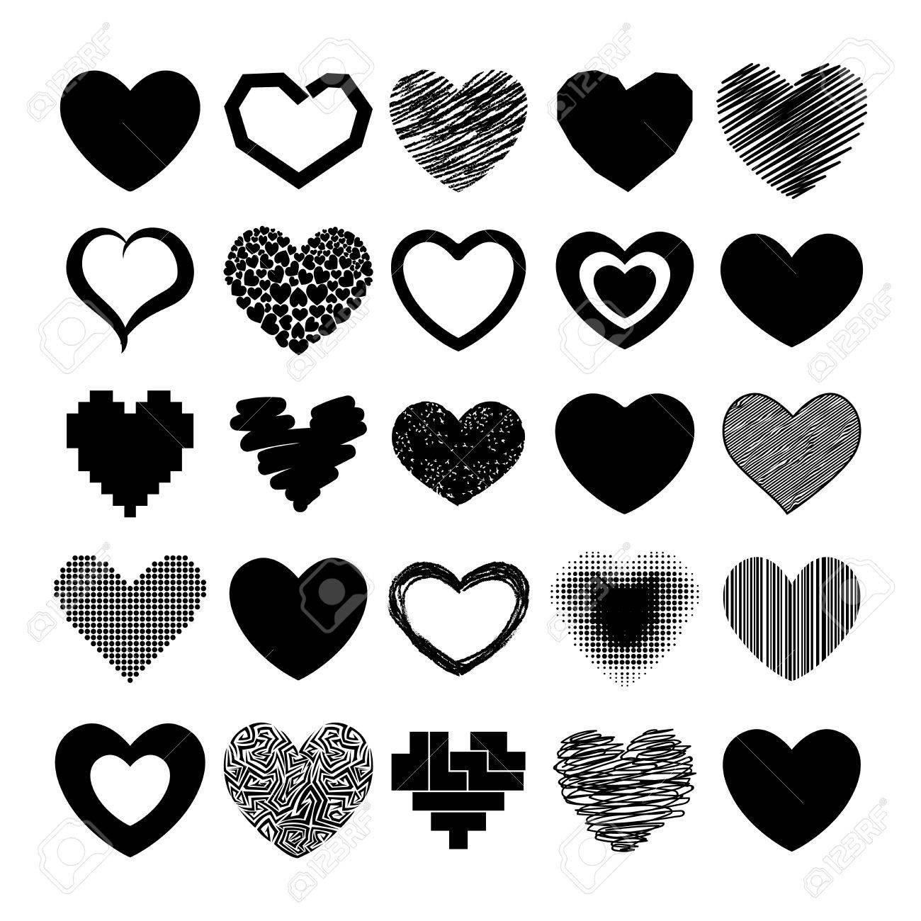 Simple red hearts sharp vector icon color card beautiful simple red hearts sharp vector icon color card beautiful celebrate bright emoticon red heart symbols biocorpaavc