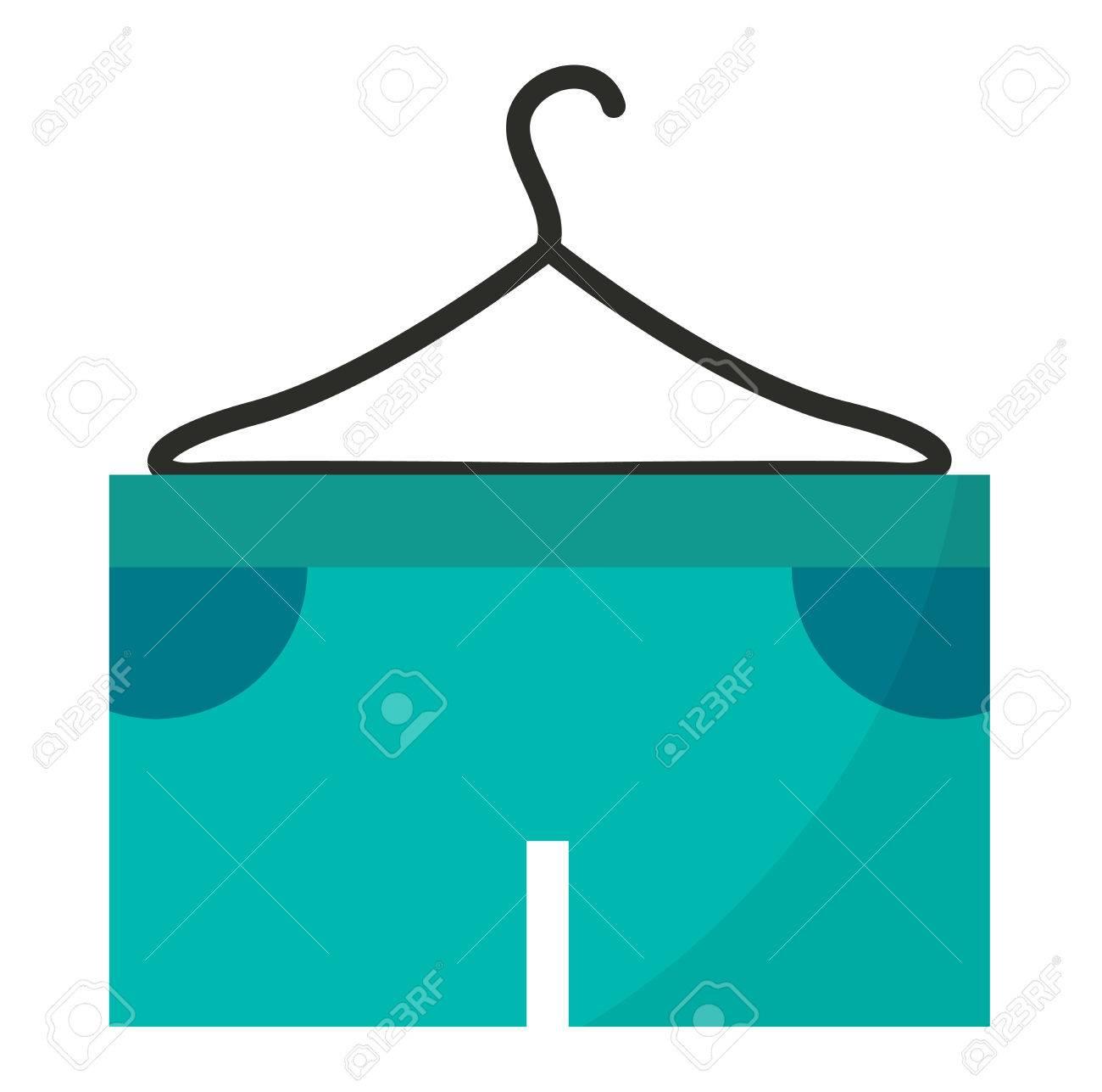 Short De Course Bleu Isolé Sur Fond Blanc. Vêtements Short Sport Course  Vêtements Ang Mode De Fitness Shorts De Course. Pantalon De Tennis Vêtement  Short De ... 80a478c96328