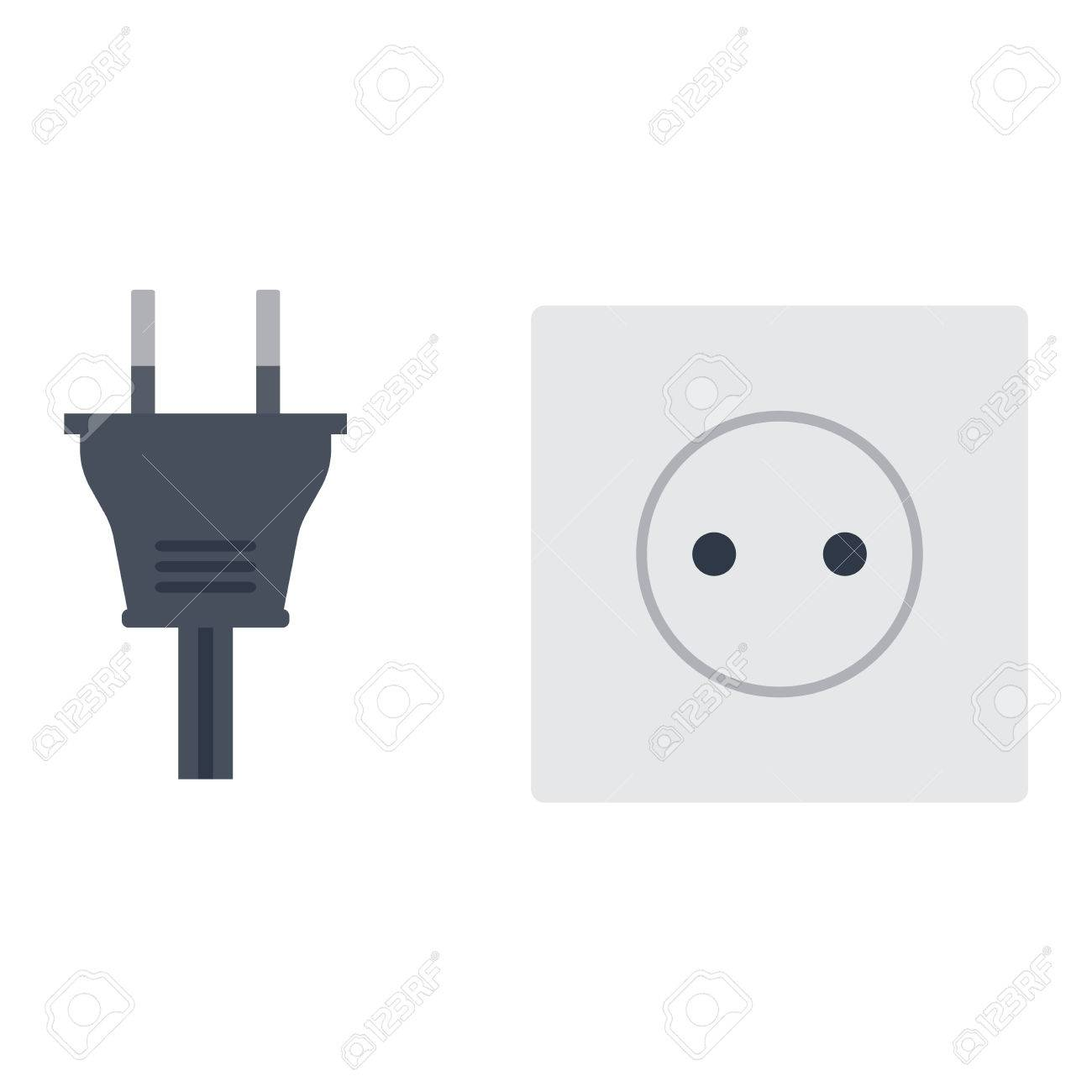 Electric outlet illustration on white background. Energy socket.. on installing a new electrical outlet, basic electrical wiring, open neutral in electrical wiring, electrical plug, electrical generator, electrical wall outlets, new electrical wiring, circuit breaker wiring, electrical wiring installation, electrical store, electrical socket, roughing in electrical wiring, electrical switches wiring, electrical receptacles, scary electrical wiring, electrical panel wiring, exterior electrical wiring, electrical muscle stimulator, electrical safety, replacing electrical outlets, electrical suppliers, electrical estimating, electrical troubleshooting, electrical tests, electrical switch wiring, electrical wiring diagram, electrical install, electrical wiring in north america, electrical work, home wiring, electrical stimulator, electrical standards, outlet switch, british electrical wiring, electrical retail, electrical motor, residential electrical wiring, bad electrical wiring, electrical lighting wiring,