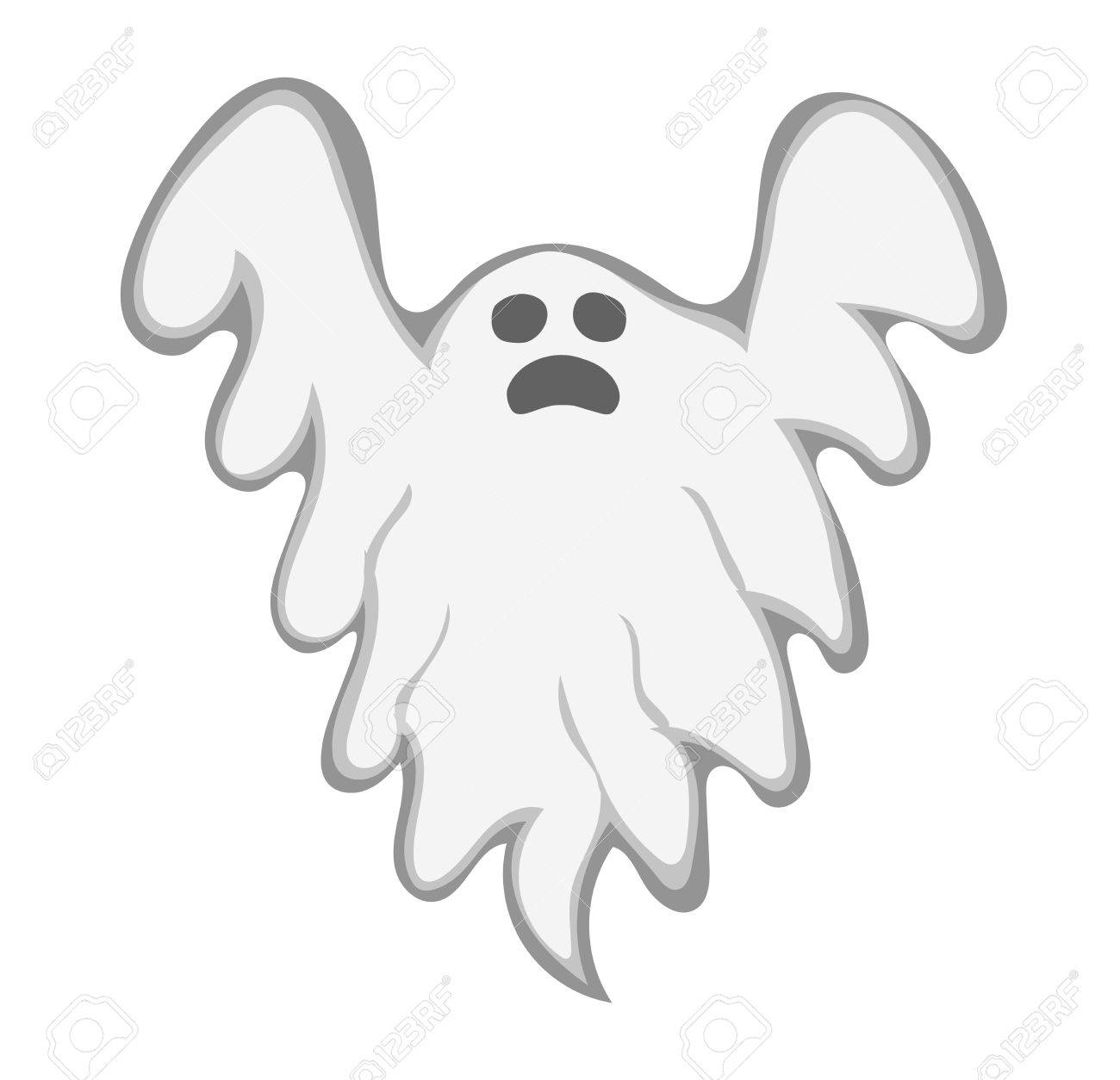 Cartoon spooky ghost character vector spooky and scary holiday cartoon spooky ghost character vector spooky and scary holiday monster design ghost character costume publicscrutiny Images