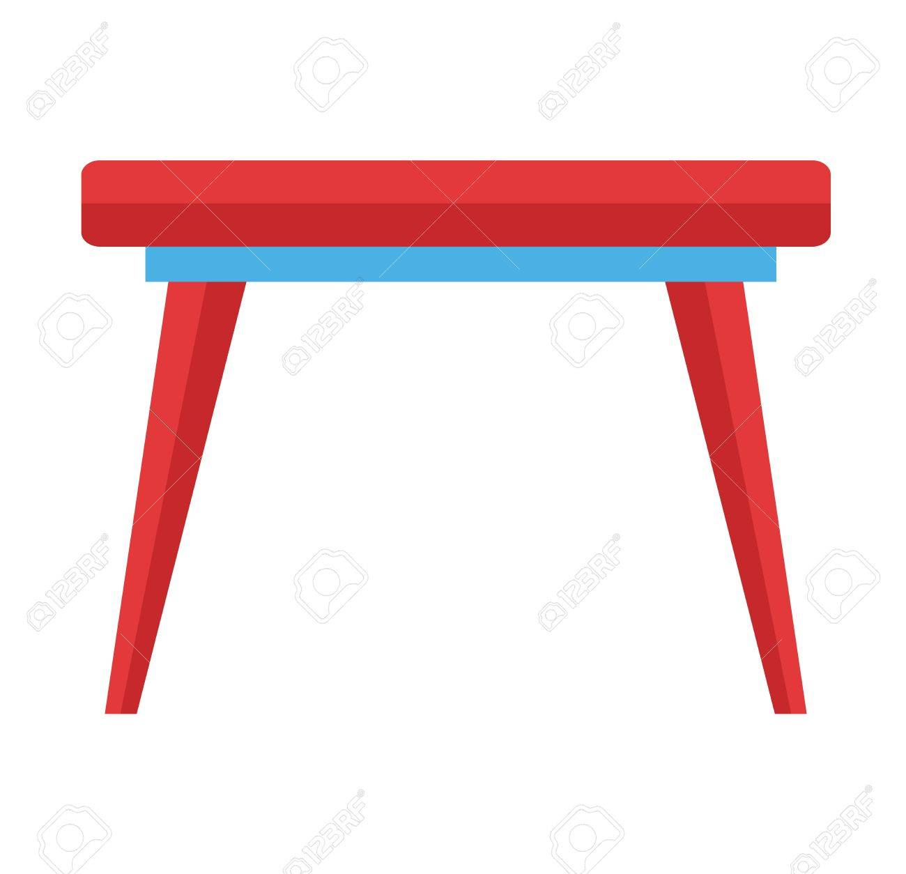 Cute Preschool Room Furniture Small Education And Colorful Table For Little Kids Interior Wooden