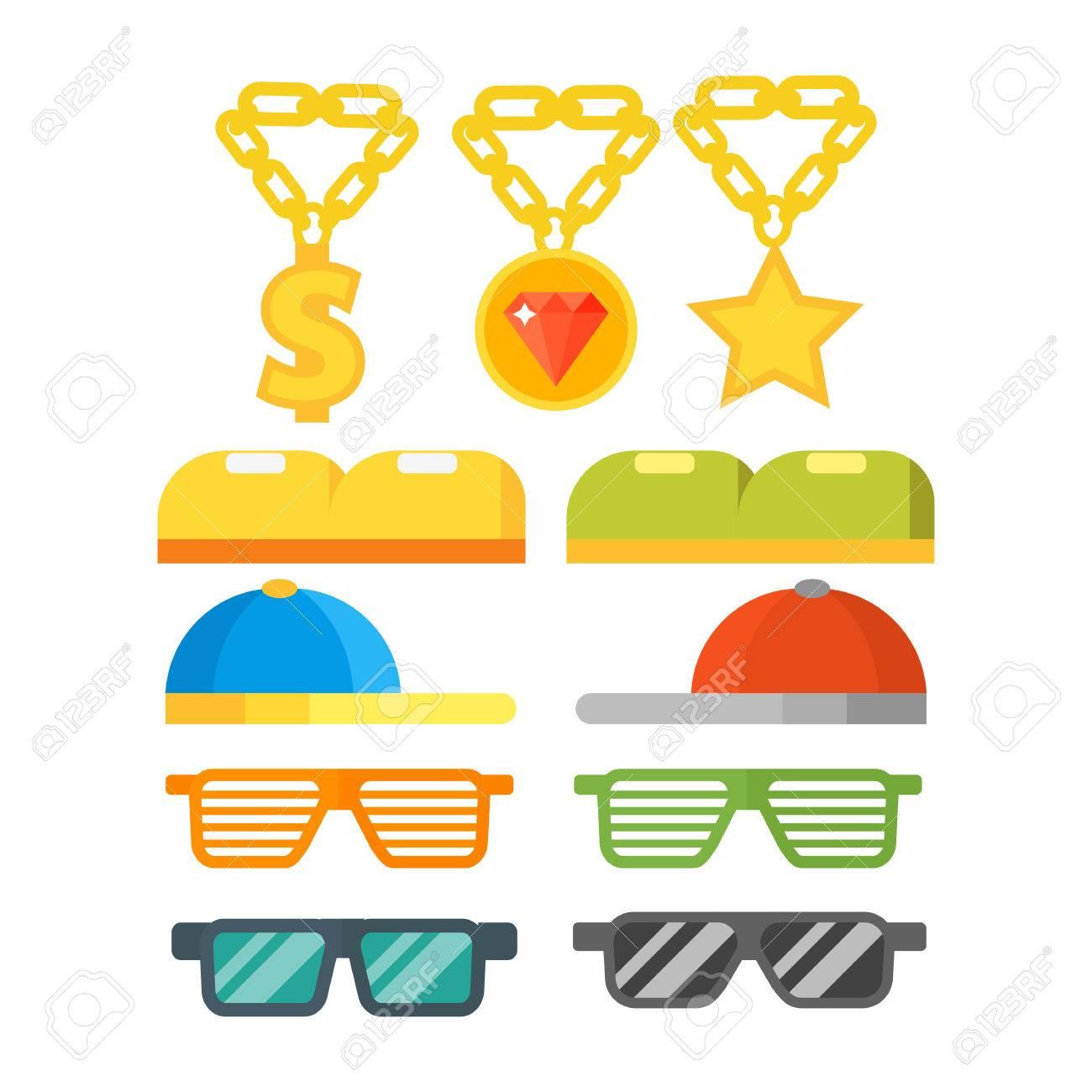 Forme Las Gafas De Sol De La Joyería Del Oro Las Lentes Plásticas ...