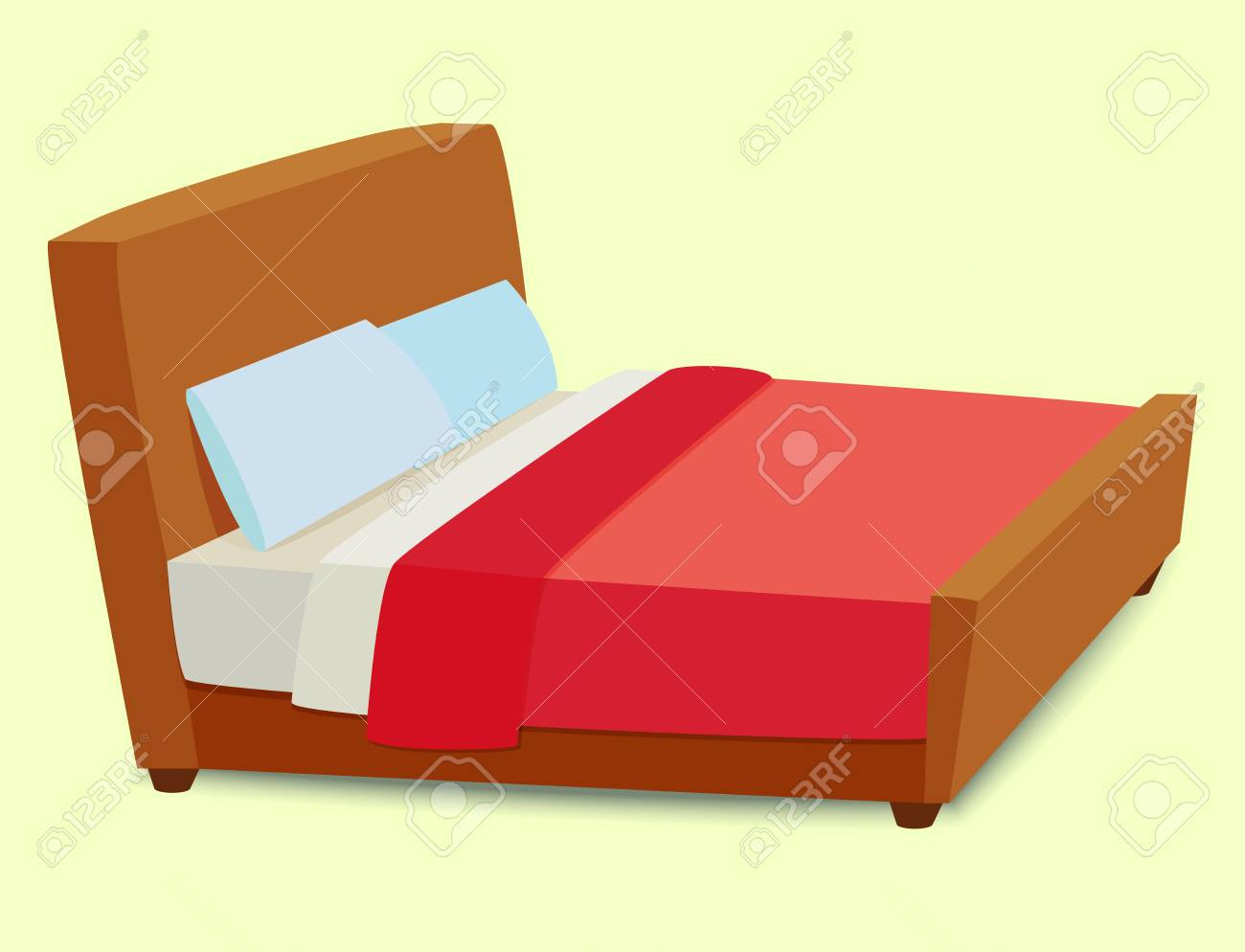 Vector Bed Icon Interior Home Rest Sleep Furniture Comfortable  # Bedtime Muebles
