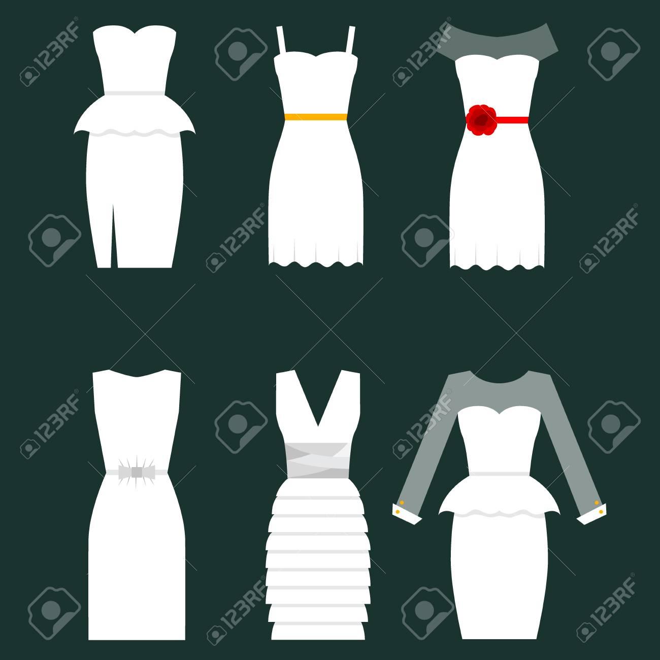 LaIllustration De Blanche Style Robe ; Mariée Composition Damp;39 Mariage Invitation JK31TlFc