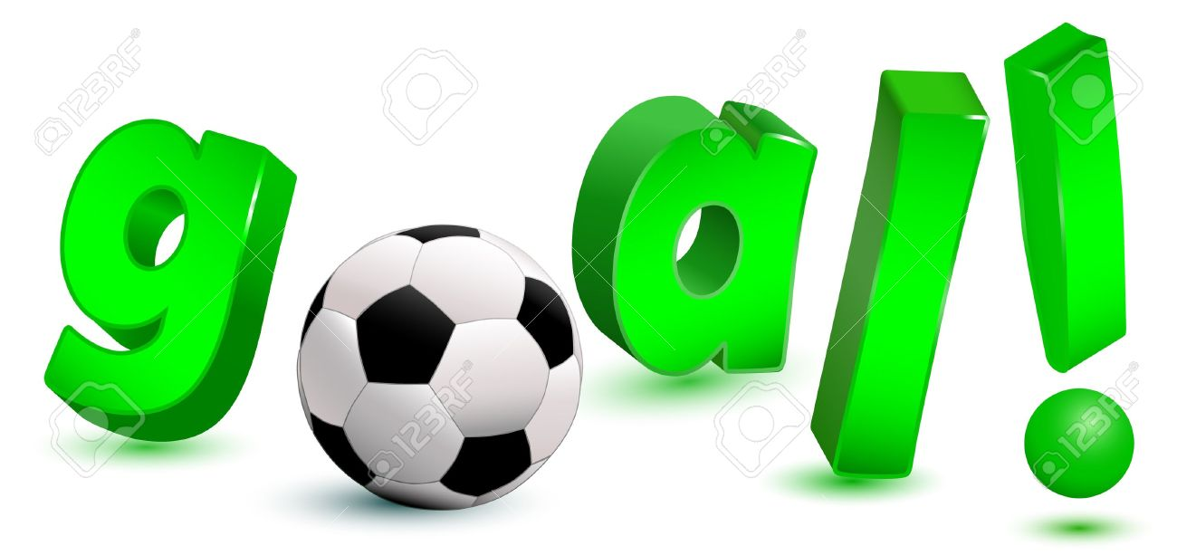 3d goal text with soccer ball royalty free cliparts vectors and 3d goal text with soccer ball stock vector 11501533 reheart Images