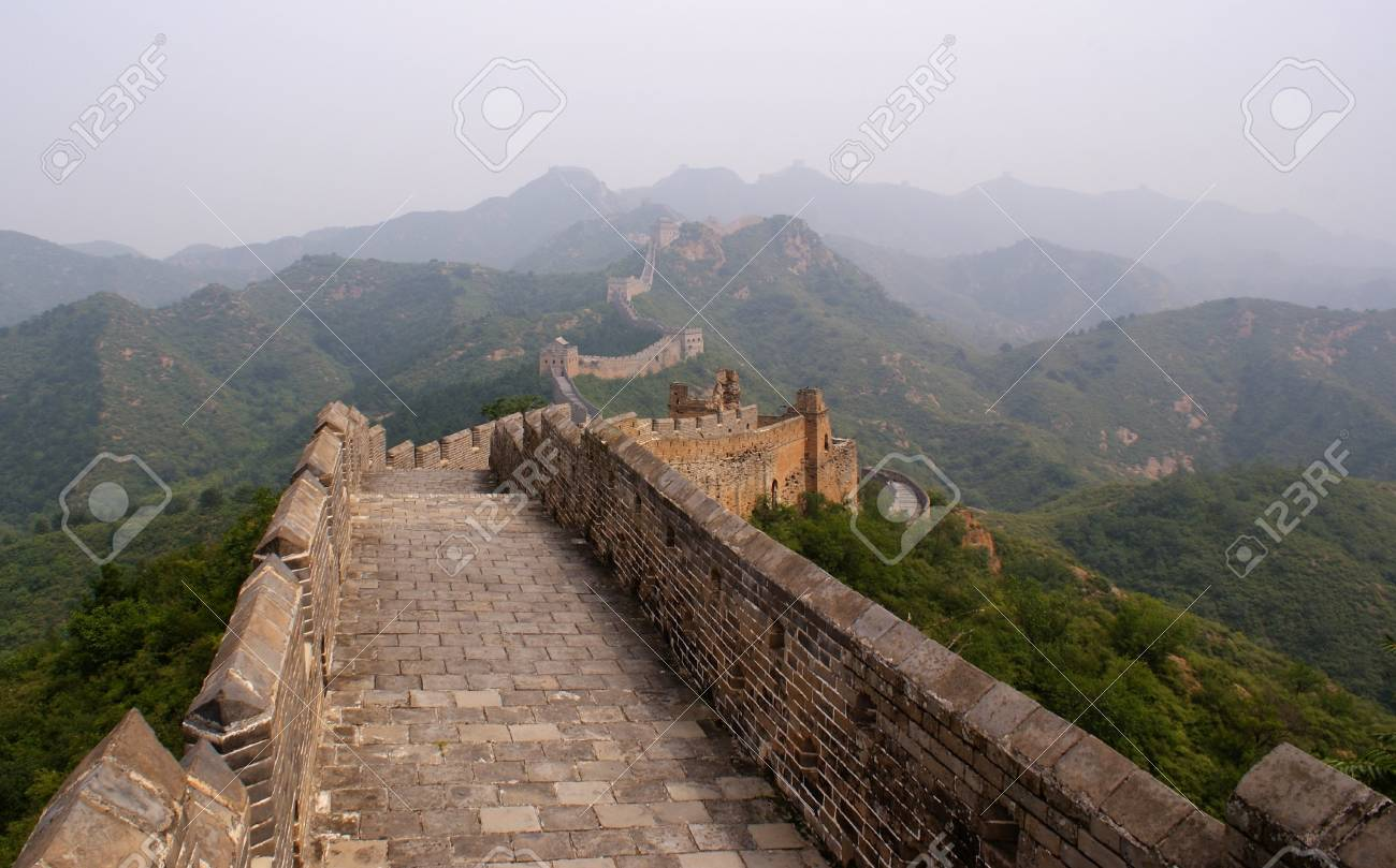 The great wall, China Stock Photo - 11421521