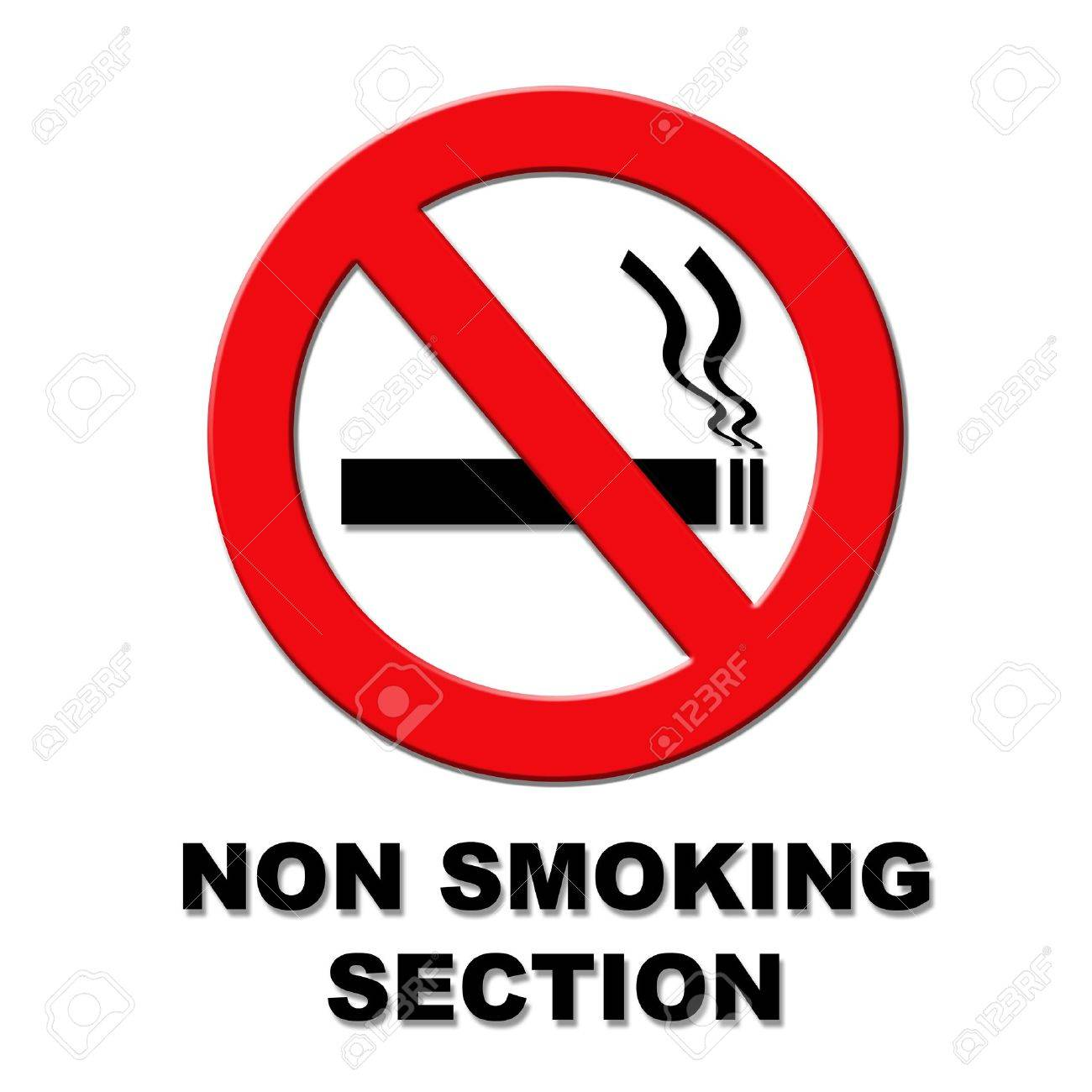 No smoking section red and black sign on white background stock no smoking section red and black sign on white background stock photo 12535031 buycottarizona Choice Image