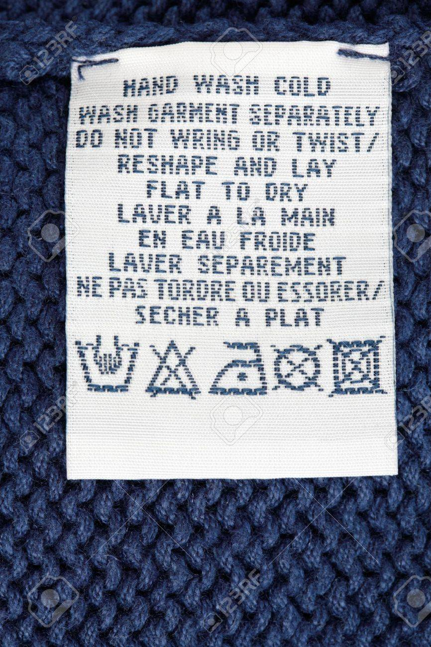 Clothing Tag Isolated on a