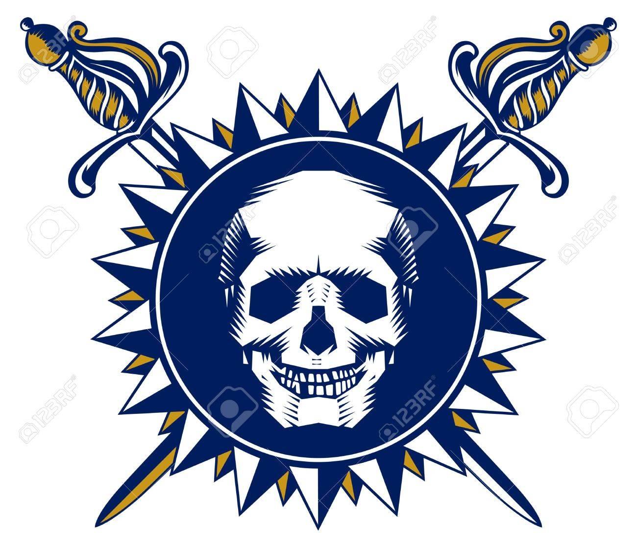 skull symbol Stock Vector - 9462653