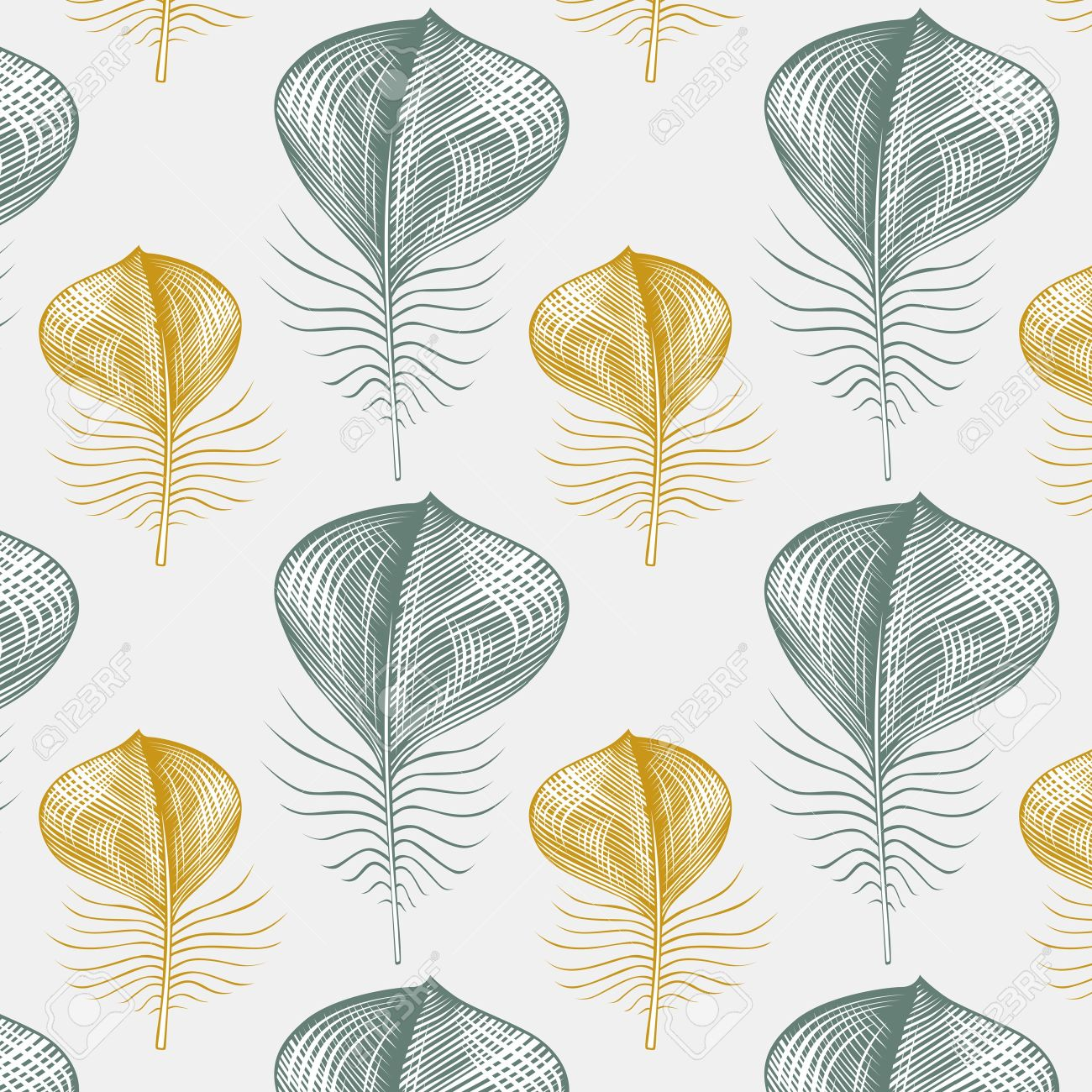 feather pattern background - 9501330