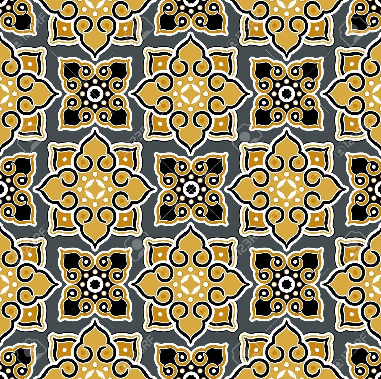 thailand background pattern - 9501333