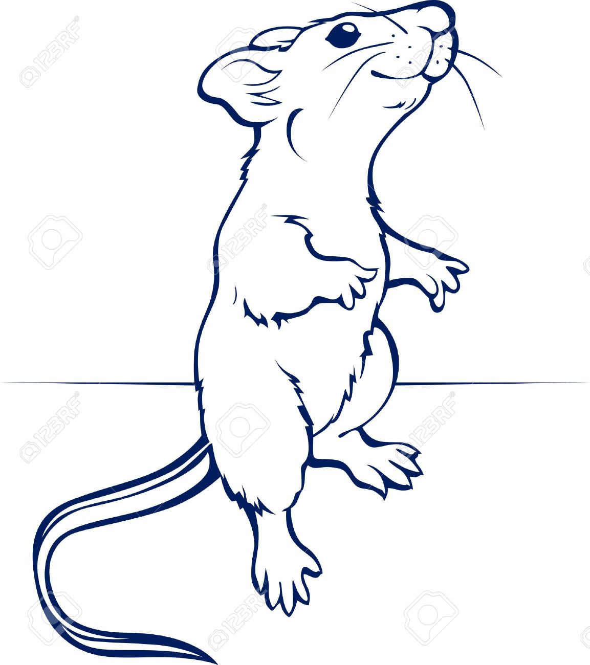 cartoon rat or mouse - 9554781