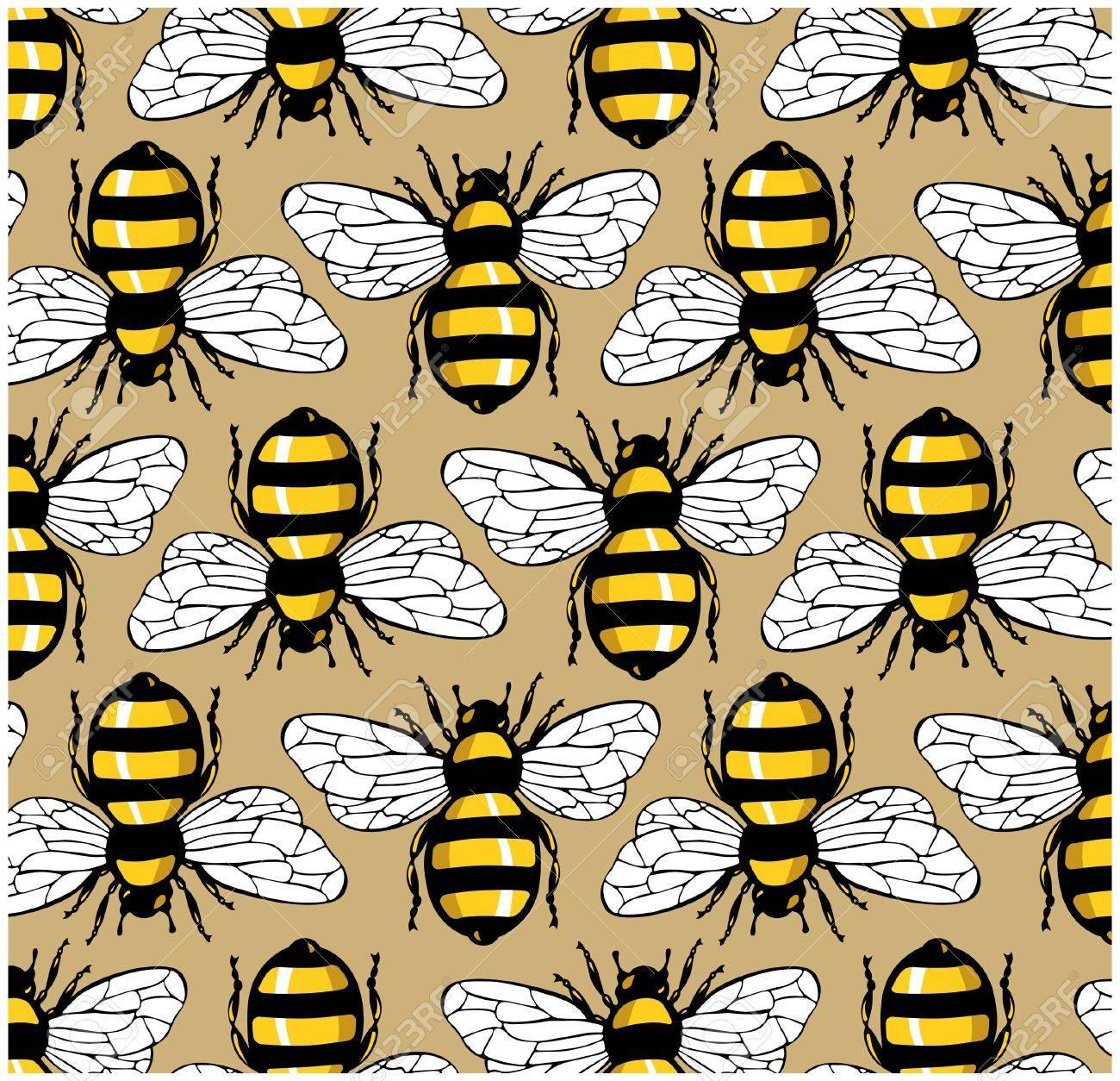 bee honey pattern - 9647201
