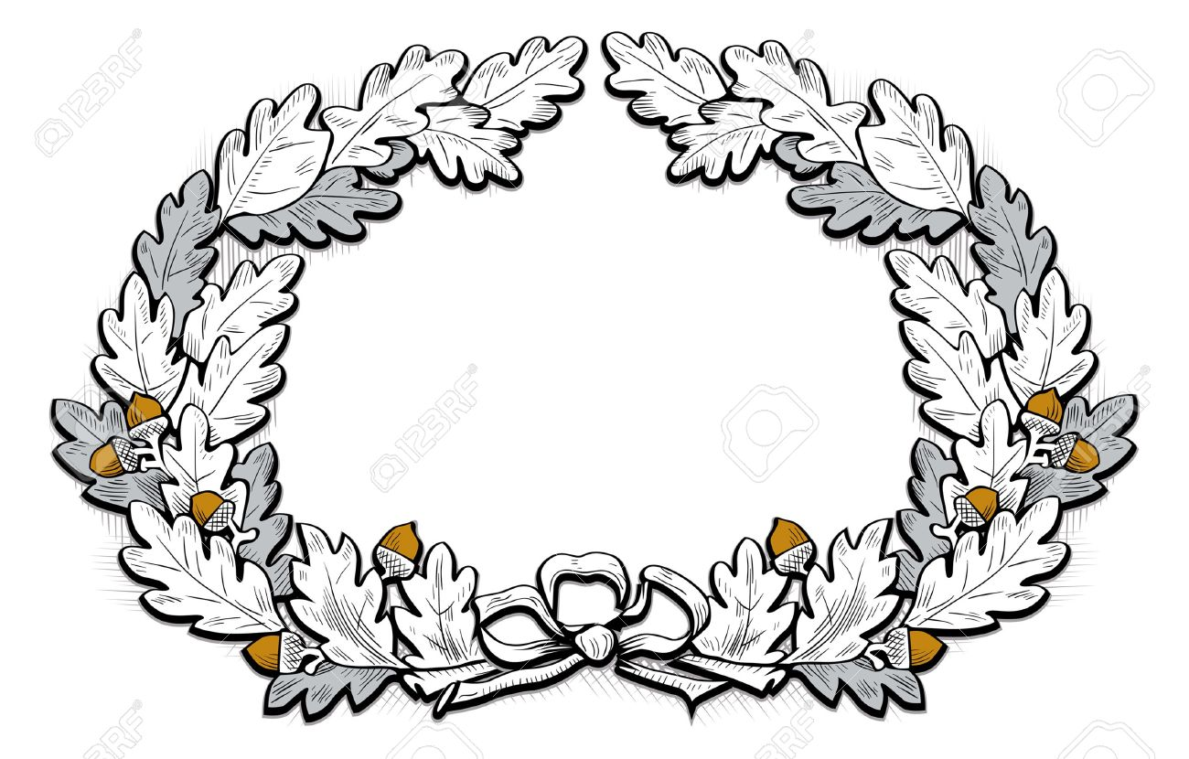 acorn frame royalty free cliparts vectors and stock illustration rh 123rf com