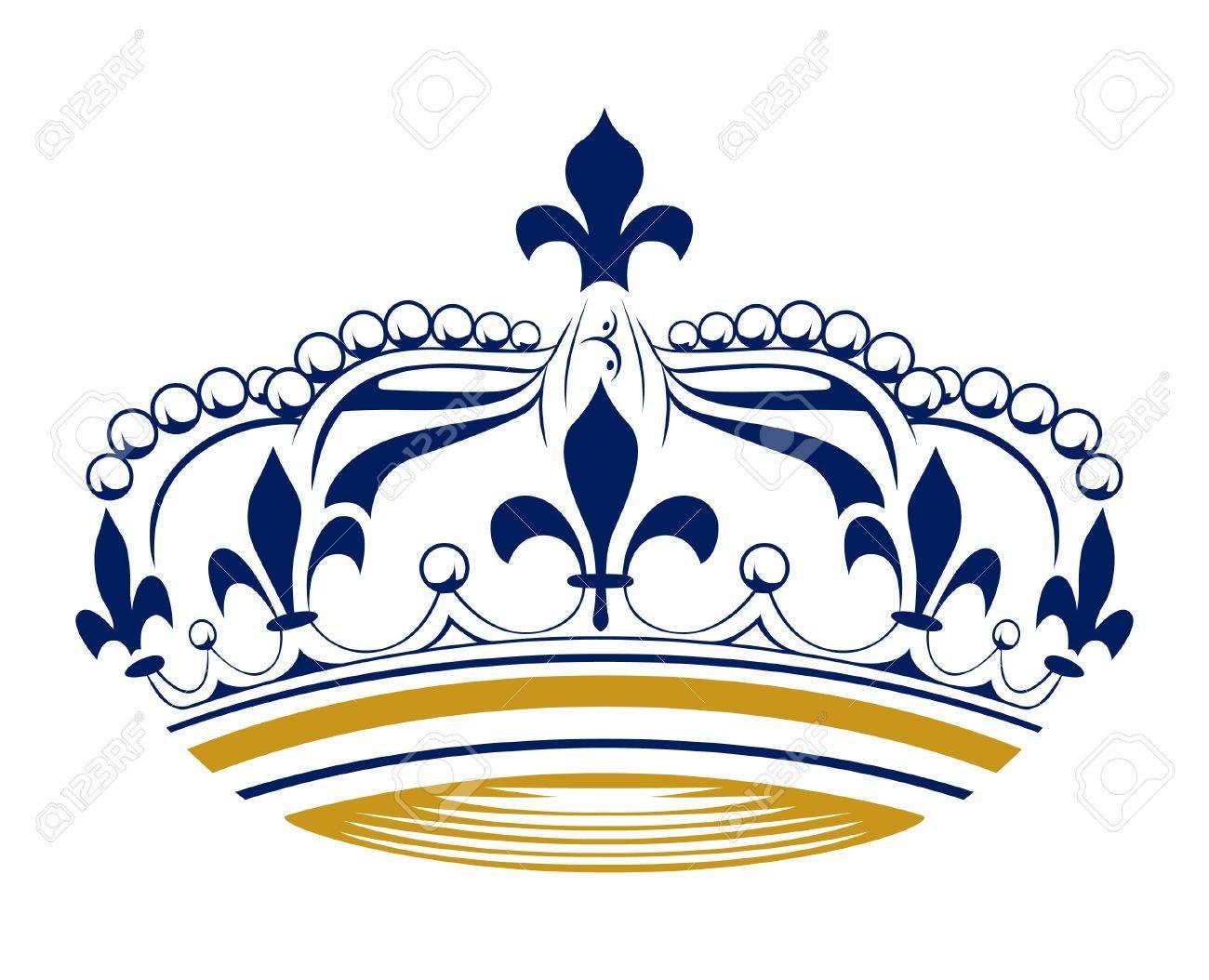 retro king crown - 9707136