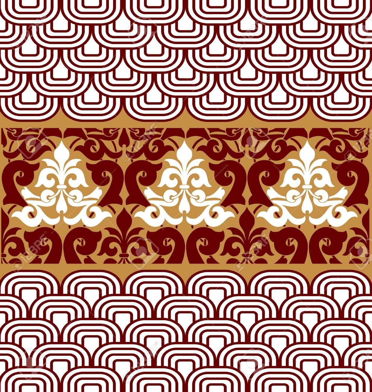 vintage pattern background Stock Vector - 10260114