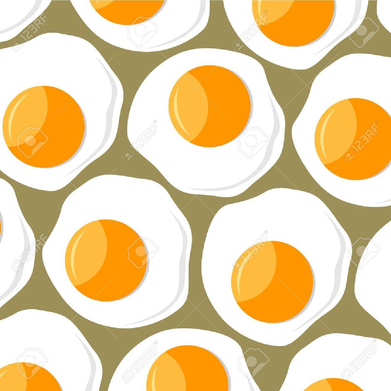 yellow scrambled eggs background pattern - 10991418