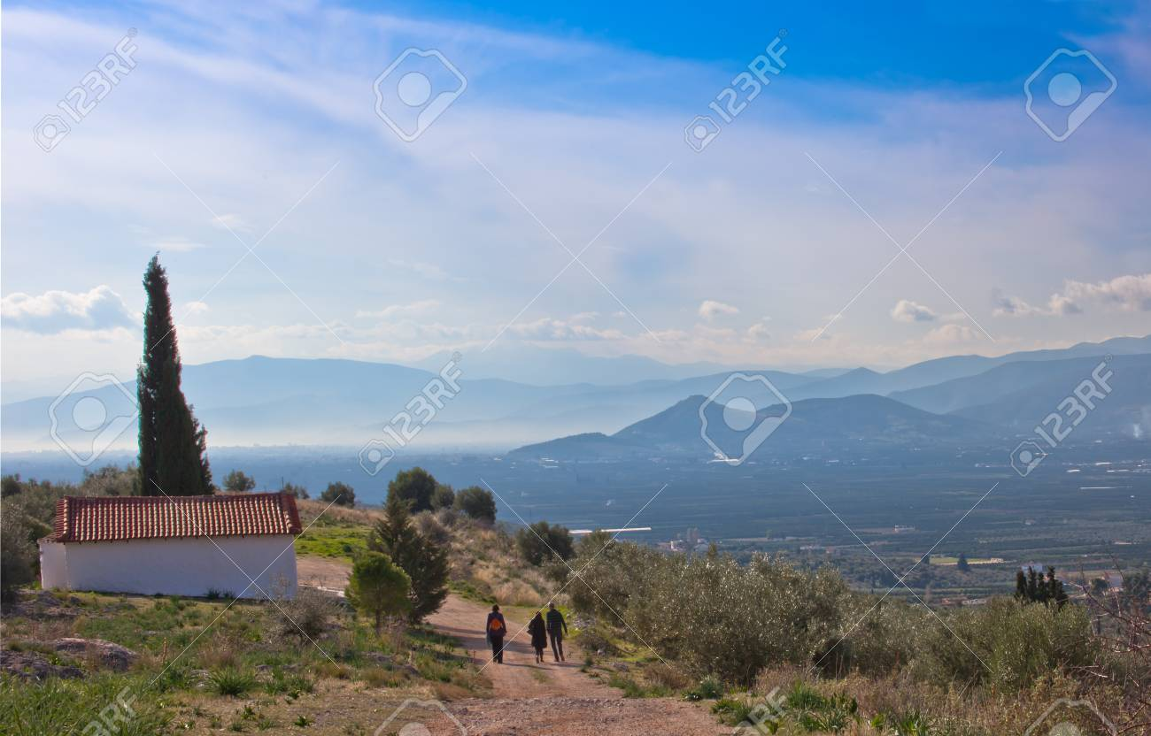 People travel in the mountains Stock Photo - 12196959