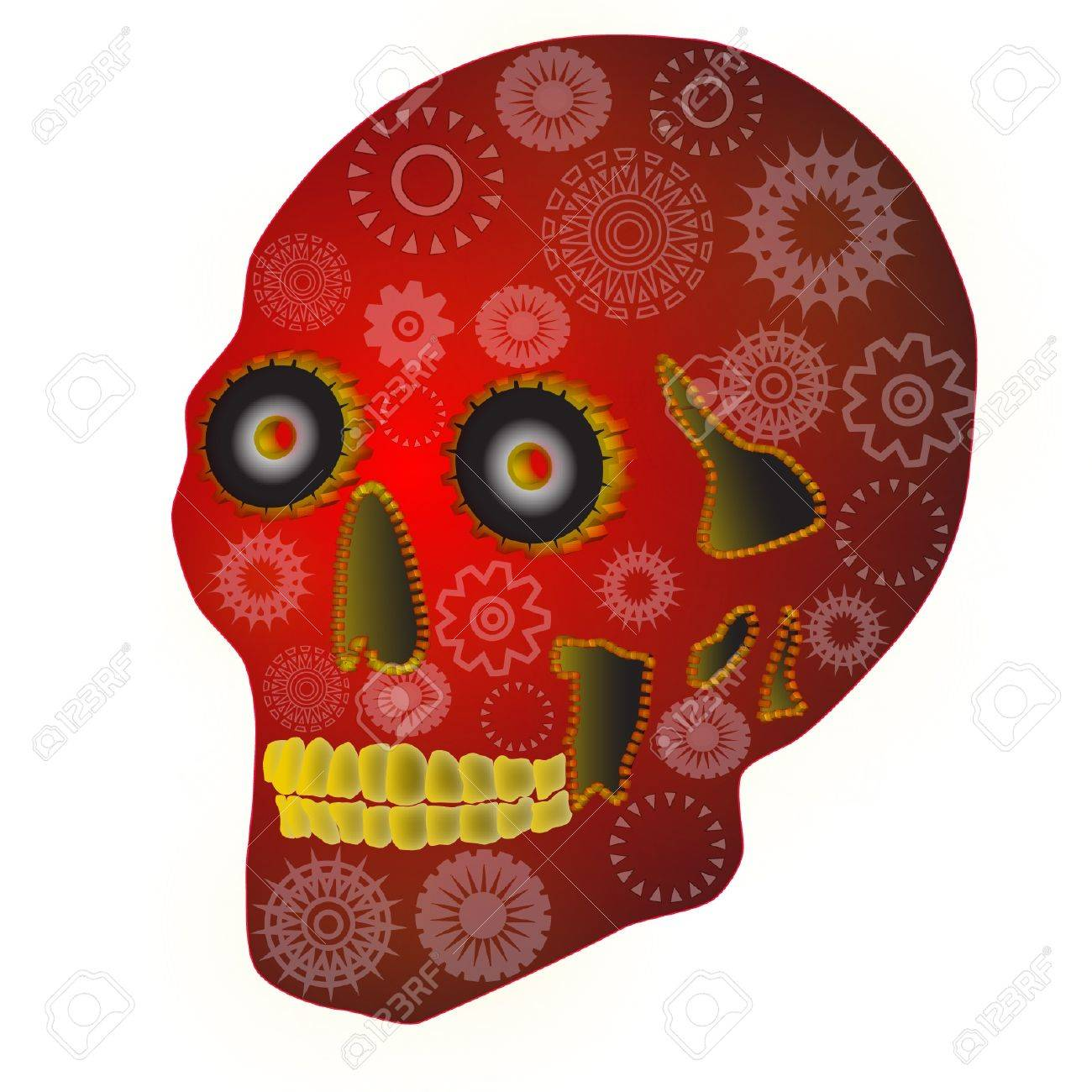 Gear Skull has steampunk and Mexican Day of the Dead flavors - 16633040