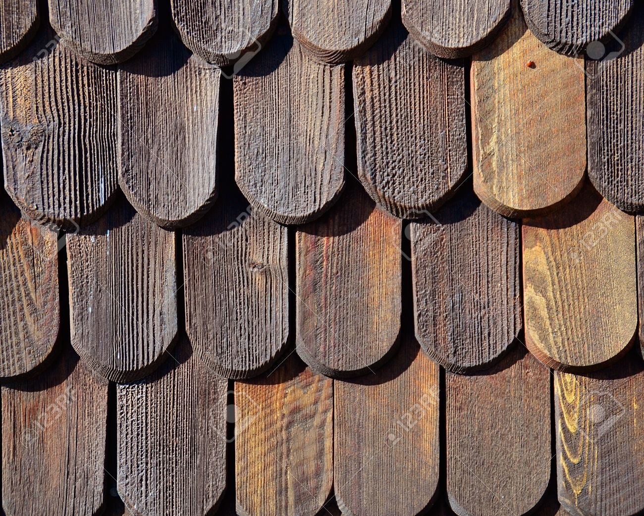 Wooden roof tiles pattern Stock Photo - 10638786