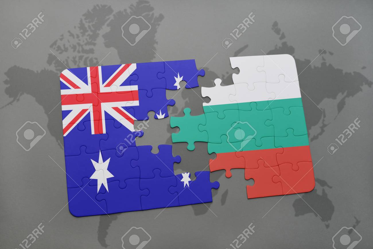 Picture of: Puzzle With The National Flag Of Australia And Bulgaria On A Stock Photo Picture And Royalty Free Image Image 59476364