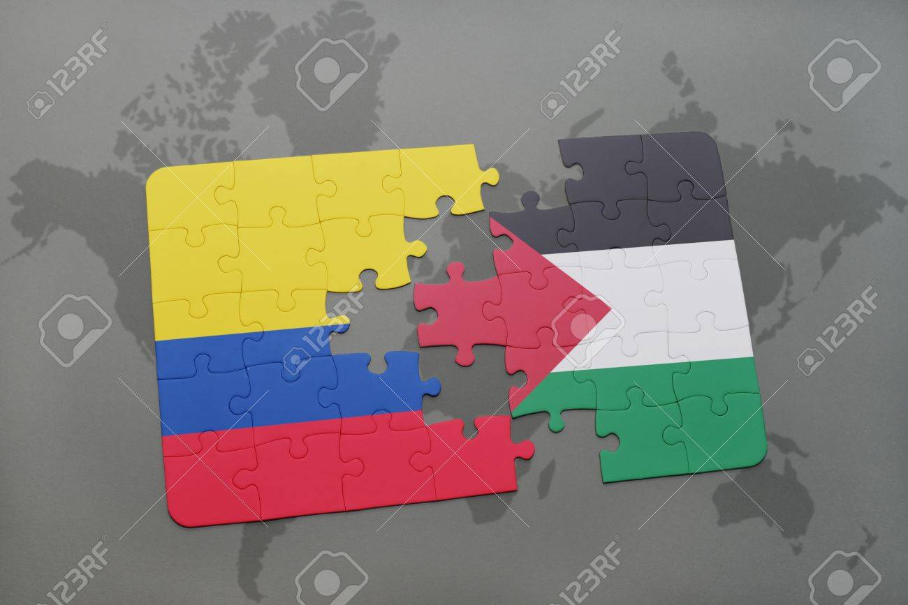 Image result for Colombia PALESTINE FLAG CARTOON
