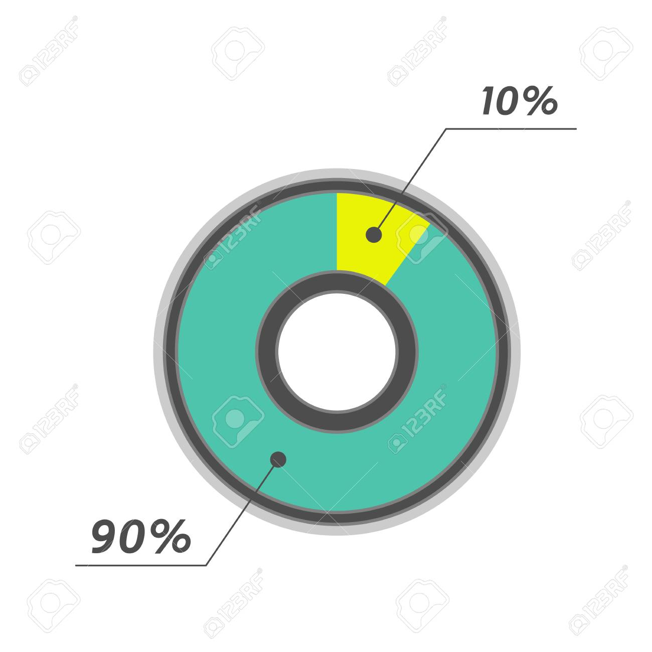 10 percent pie chart green and yellow infographics stock photo 10 percent pie chart green and yellow infographics stock photo 60173484 nvjuhfo Image collections
