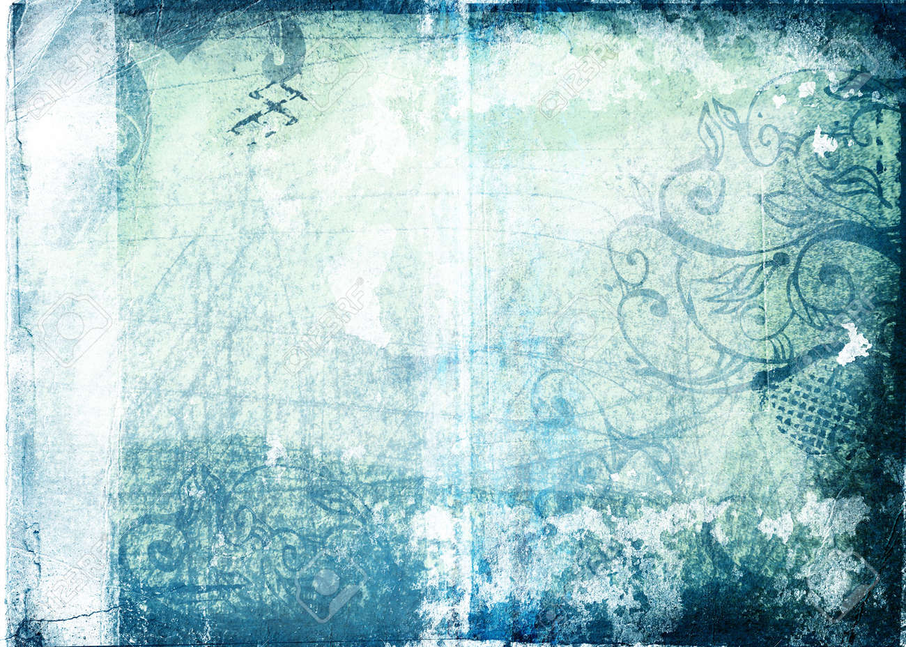 Grunge Paper Background With Scratches Designs Torn Patches