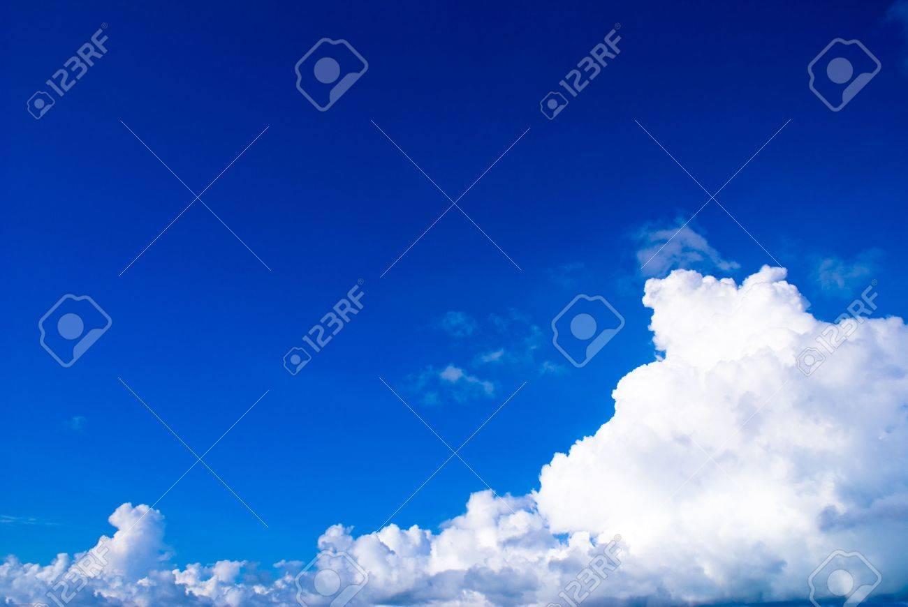 blue sky in a very sunny day Sunny