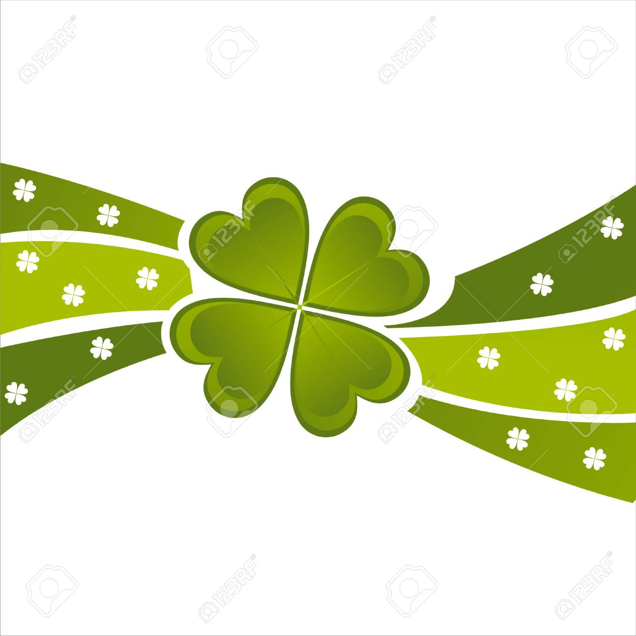 st. patrick's day background Stock Vector - 8755887
