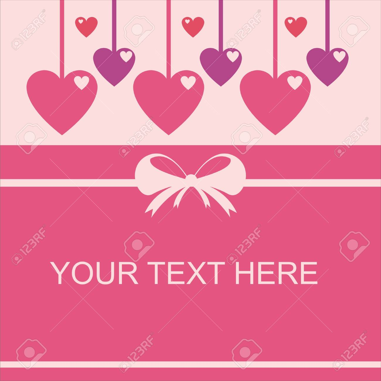 cute st. valentine day card Stock Vector - 12056032