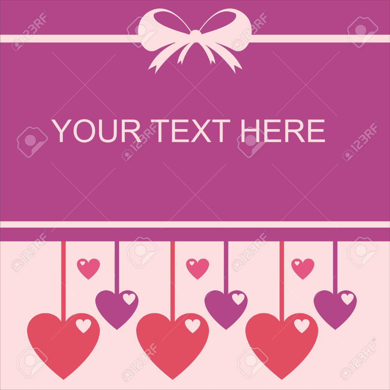 cute st. valentine s day card Stock Vector - 12414166